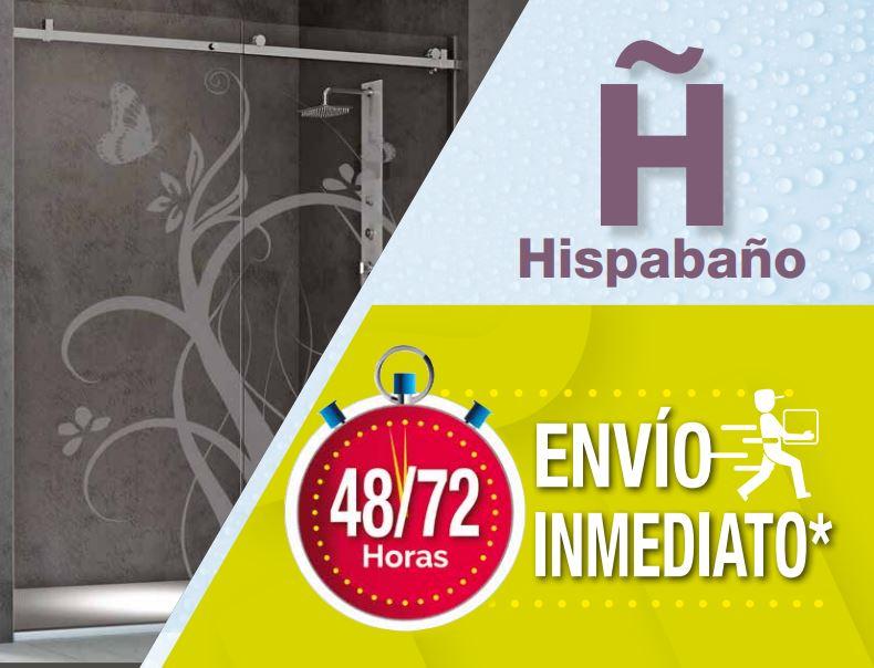 Catálogo envío inmediato 2018 - Hispabaño, fabricantes de mamparas de ducha y baño